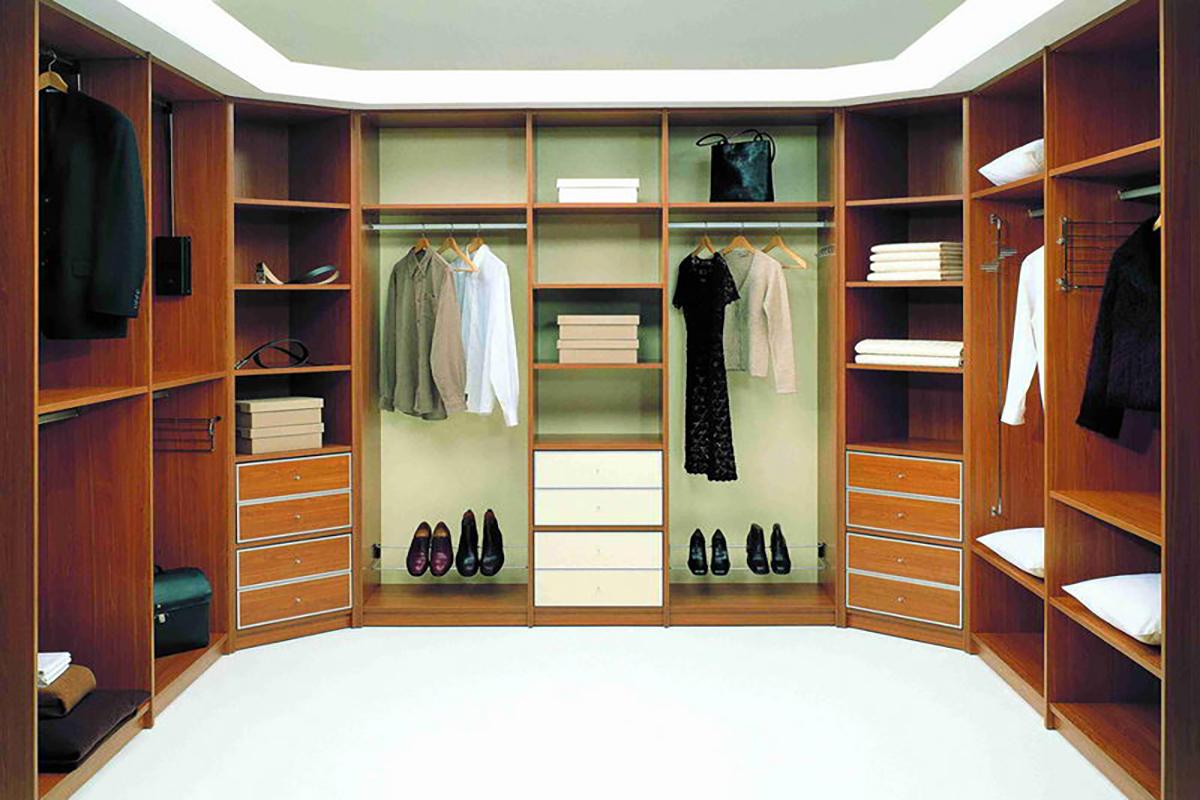Гардеробные комнаты - секрет стиль.