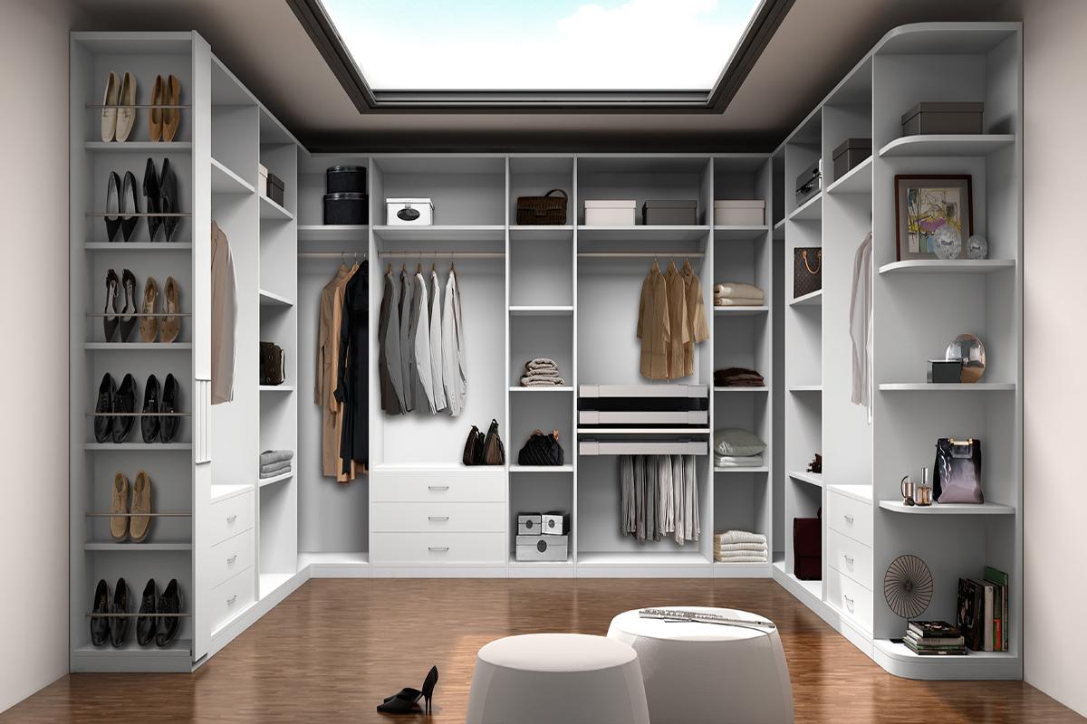 Vestidor a medida precio free armarios y vestidores a for Cuanto cuesta un closet de madera en mexico